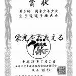 02.07.20176. Karate Meisterschaften Lobpreisung + Urkunde des JKF1. Platz  -   Präsident des JKF Metropole Kantó – Isamu Kamagata  -   Präsident des JKF Präfektur Kamagawa, Ken Nisbitani